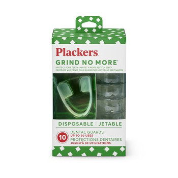 Plackers Grind No More Dental Night Protector | 10 Units