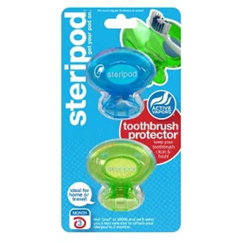 Steripod Toothbrush Protector | 2 pack