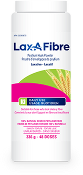 Lax-A Fibre Psyllium Husk Powder Laxative | 336 g