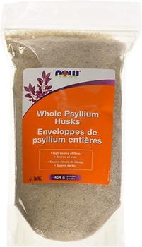 NOW Whole Psyllium Husks Powder | 454 g