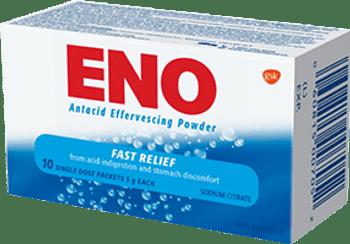 ENO Antacid Effervescing Powder   10 x 5g
