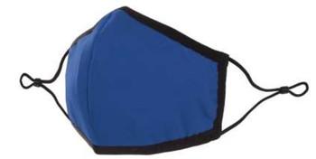 Cloth Mask-Reusable, Adjustable & Washable  Mask    | Blue