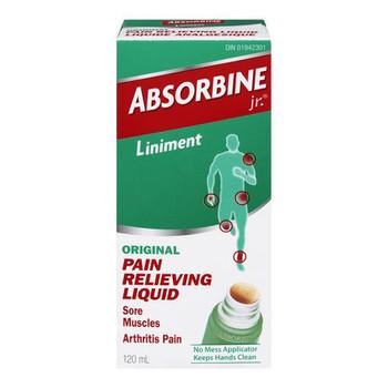 Absorbine Jr. Liniment Original Pain Relieving Liquid | 120 ml