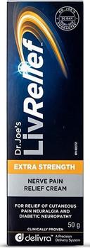 Dr. Joe's LivRelief Extra Strength Nerve Pain Relief Cream | 50 g