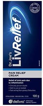 Dr. Joe's LivRelief Pain Relief Cream   50 g