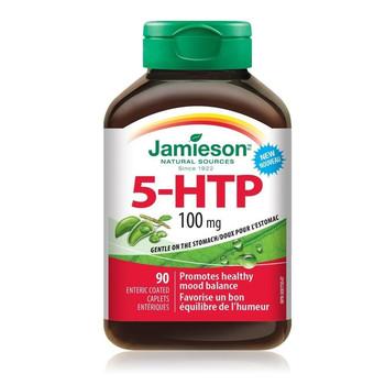 Jamieson 5-HTP, 100mg | 90 Enteric Coated Caplets