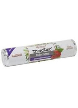 Quantum Health TheraZinc Echinacea Lozenges - Natural Raspberry | 14 Lozenges