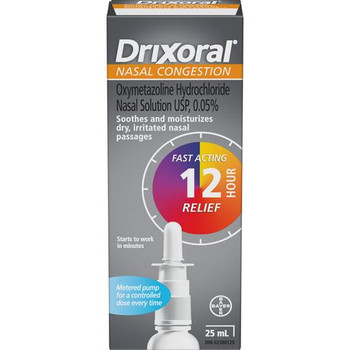 Drixoral Pump | 25 mL