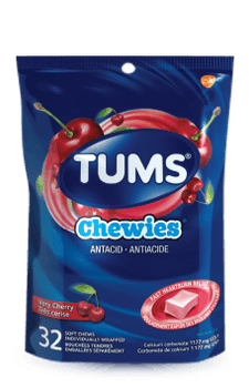 Tums Chewies Antacid - Very Cherry | 32 Soft Chews
