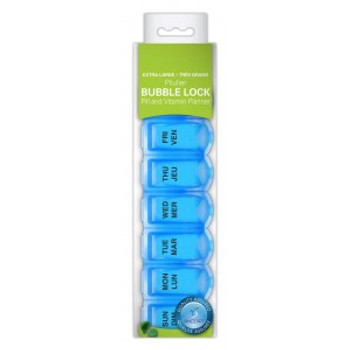 PharmaSystems Extra Large Soft Squeeze Pill & Vitamin Planner