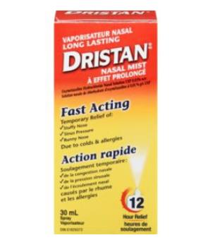 Dristan Long Lasting Nasal Mist - 12 Hour Relief | 30 mL