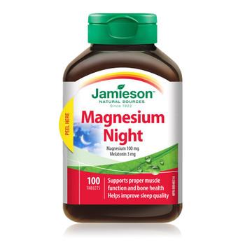 Jamieson Magnesium Night | 100 Tablets