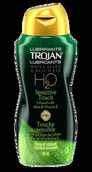 Trojan Sensitive Touch H2O Personal Lubricant with Aloe & Vitamin E | 163 ml