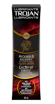 Trojan Arouses & Releases with Motion-Activated Intensifier Personal Lubricant | 88 ml