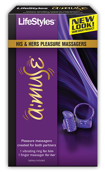 LifeStyles A:muse Pleasure Massagers for Both Partners