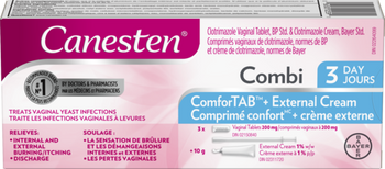 Canesten Combi ComforTab + External Vaginal Cream | 3 Days