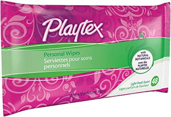 Playtex Personal Wipes - Light Fresh Scent | 48 wipes