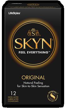 SKYN Original Natural Latex Free Lubricated Condoms   12 count