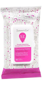 Summer's Eve Simply Sensitive Cleansing Cloths | 32 Cloths