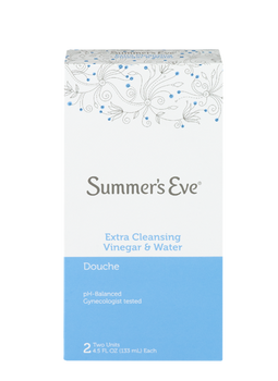Summer's Eve Extra Cleansing Vinegar & Water Douche | 2 x 133 ml