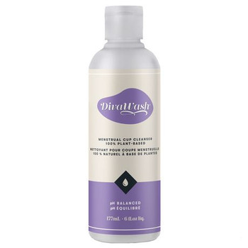 DivaWash pH Balanced Menstrual Cup Cleanser | 177 ml