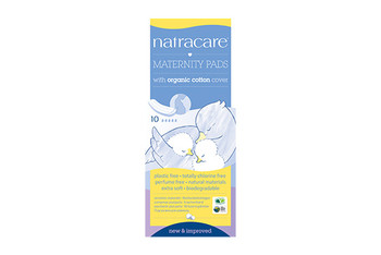 NatraCare Organic Cotton Maternity Pads | 10 Pads