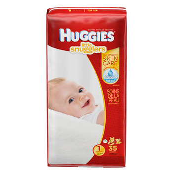 Huggies Little Snugglers Diapers - Size 1 | 35 Diapers