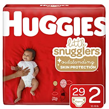 Huggies Little Snugglers Diapers - Size 2 | 29 Diapers