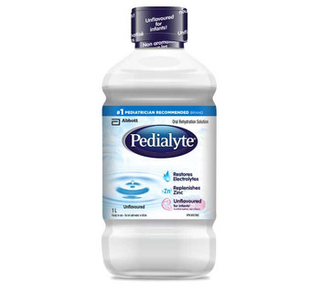 Pedialyte Oral Rehydration Solution - Unflavoured | 1 L