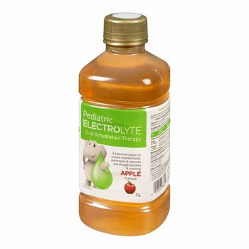 Pediatric Electrolyte Oral Rehydration Therapy - Apple Flavour | 1 L