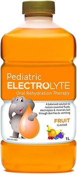 Pediatric Electrolyte Oral Rehydration Therapy - Fruit Flavour | 1 L