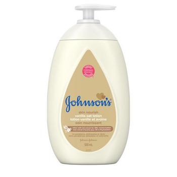 Johnson's Baby Lotion - Vanilla Oat   500 mL