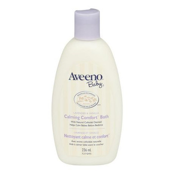 Aveeno Baby Lavender & Vanilla Calming Comfort Bath with Natural Colloidal Oatmeal | 236 ml