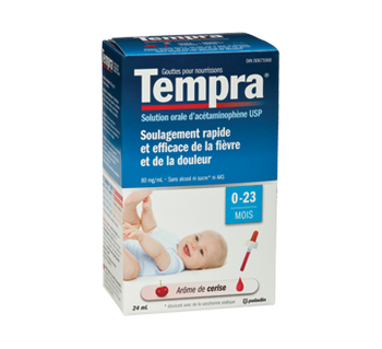 Tempra Fever & Pain Relief Infant Drops - Cherry | 24 ml
