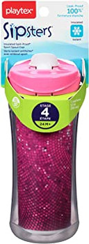Playtex Sipsters Insulated Spill-Proof Sport Spout Cup | Various Colours