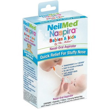 NeilMed Naspira Babies & Kids Nasal-Oral Aspirator