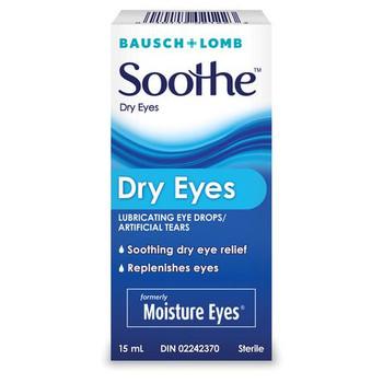 Soothe Dry Eyes Lubricating Eye Drops/Artificial Tears | 15 ml