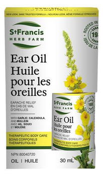 St Francis Ear Oil - Ear Ache Relief | 30 ml