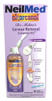 NeilMed Clear Canal Earwax Removal Complete Kit