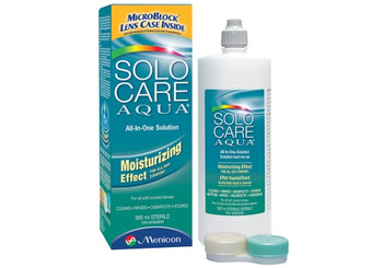 Solo Care Aqua All-In-One Contact Lenses Solution | 360 ml