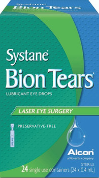 Systane Bion Tears Lubricant Eye Drops - Laser Eye Surgery | 24 Single Use Containers