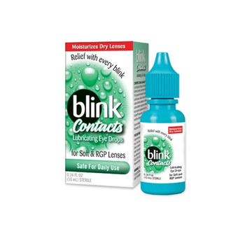 Blink Contacts Lubricating Drops with Sodium Hyaluronate | 10 ml