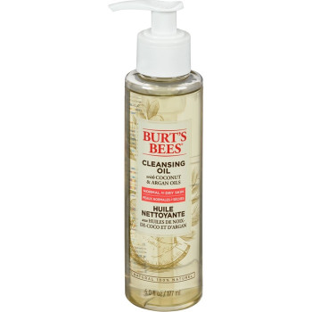 Burt's Bees Cleansing Oil with Coconut & Argan Oils   177ml