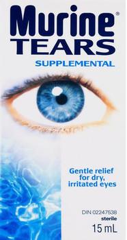 Murine Supplemental Tears for Dry, Irritated Eyes | 15 ml