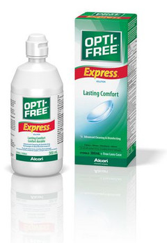 Opti-Free Express Contact Solution for Lasting Comfort | 300 ml
