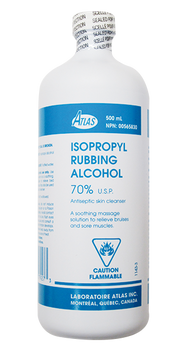 Atlas Isopropyl Rubbing Alcohol 70% | 500 ml