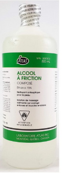 Atlas Rubbing Alcohol Compound Ethyl 70% | 225 ml