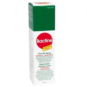 Bactine First-Aid Spray Antiseptic | 105 ml