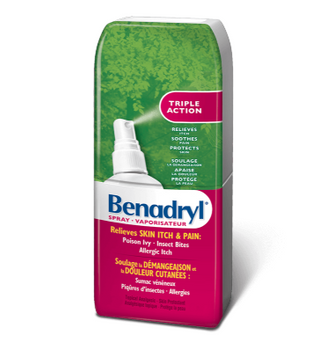 Benadryl Triple Action Itch Relief Spray | 59 mL