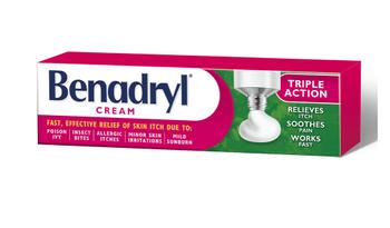 Benadryl Triple Action Itch Relief Cream | 30 g